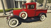 Ford A Pick-up 1930 for GTA 5 miniature 5
