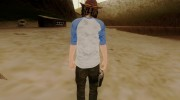 Carl Grimes from The Walking Dead для GTA San Andreas миниатюра 2