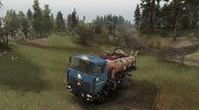 МАЗ 5434 SV «Лесовоз» v1.2 for Spintires 2014 miniature 1