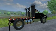 Mack B63 Flatbed for Farming Simulator 2013 miniature 4