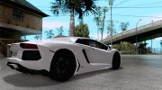 Покрасочные работы для Lamborghini Aventador LP700-4 2011 for GTA San Andreas miniature 4