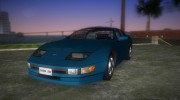Nissan 300ZX for GTA Vice City miniature 1