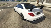2010 Mercedes-Benz CL65 AMG for GTA 5 miniature 4