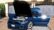 Ford Mustang GT 2015 v1.1 for GTA 5 miniature 5