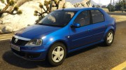 2008 Dacia Logan v2.0 FINAL for GTA 5 miniature 1