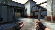 Dark Knife with rust для Counter-Strike Source миниатюра 2