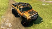 Hummer H2 SUT 6x6 for Spintires DEMO 2013 miniature 1