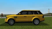 Range Rover Sport HSE for GTA Vice City miniature 4