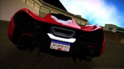 McLaren P1 2013 for GTA Vice City miniature 4