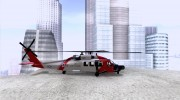 HH-60 Jayhawk USCG for GTA San Andreas miniature 5