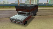 1971 Ford F-350 U-Haul для GTA Vice City миниатюра 8
