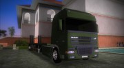 DAF XF 530 2002 Army for GTA Vice City miniature 2