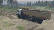 КамАЗ 6350 «Мустанг» Лесовоз for Spintires 2014 miniature 5