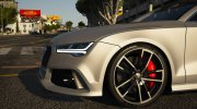 Audi RS7 Sportback for GTA 5 miniature 4