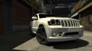 Jeep Grand Cherokee SRT8 для GTA 4 миниатюра 5