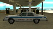 Ford LTD Crown Victoria 1987 Chicago Police Department for GTA San Andreas miniature 5