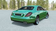 Mercedes-Benz S500 (W222) 2013 for BeamNG.Drive miniature 3