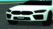 BMW M8 Competition Sa Style for GTA San Andreas miniature 3