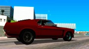 1969 Ford Mustang Boss 302 for GTA San Andreas miniature 5