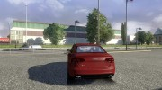 Audi S4 + интерьер for Euro Truck Simulator 2 miniature 2