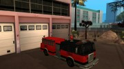 Paintable in the two of the colours of the Firetruck by Vexillum for GTA San Andreas miniature 10