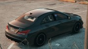 Mercedes-Benz CLA45 AMG Black DTD edition for GTA 5 miniature 3