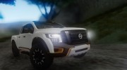 Nissan Titan Warrior 2017 для GTA San Andreas миниатюра 1