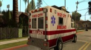 Ambulance from Vice City for GTA San Andreas miniature 4