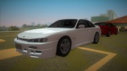 Nissan 200SX s14a for GTA Vice City miniature 16