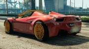Ferrari 458 Italia Spider (LibertyWalk) for GTA 5 miniature 2