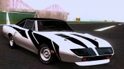 Plymouth Roadrunner Superbird RM23 1970 для GTA San Andreas миниатюра 10
