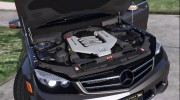 2014 Mercedes-Benz C63 AMG W204 1.0 for GTA 5 miniature 5