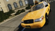 Ford Crown Victoria NYC Taxi 2012 для GTA 4 миниатюра 5