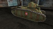 Шкурка для PzKpfw B2 740(f) for World Of Tanks miniature 5