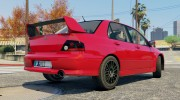 Mitsubishi Lancer EVO 8 MR Tunable for GTA 5 miniature 7