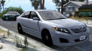 Toyota Camry 2011 for GTA 5 miniature 1