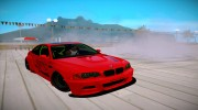 BMW M3 E46 Liberty Walk для GTA San Andreas миниатюра 1