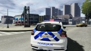 Ford Focus Macedonian Police for GTA 4 miniature 4