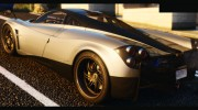 2014 Pagani Huayra 1.1 for GTA 5 miniature 3