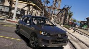 Volkswagen Touareg V8 tdi 1.0 for GTA 5 miniature 1