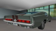 Shelby Cobra GT500 for GTA Vice City miniature 5