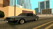 Volvo 242 InterCooler Turbo для GTA San Andreas миниатюра 2