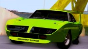 Plymouth Roadrunner Superbird RM23 1970 для GTA San Andreas миниатюра 7