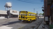Caisson Elementary C School Bus для GTA 5 миниатюра 9