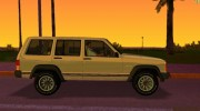 Jeep Cherokee XJ 1984-1991 for GTA Vice City miniature 3