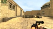 Six-colour desert steyr aug for Counter-Strike Source miniature 3