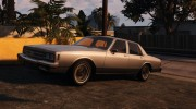 Chevrolet Impala 1985 for GTA 5 miniature 5