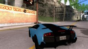 Lamborghini Murcielago LP 670-4 SV for GTA San Andreas miniature 3