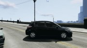 Nissan Versa SL for GTA 4 miniature 5