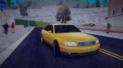 Audi S8 for GTA 3 miniature 4